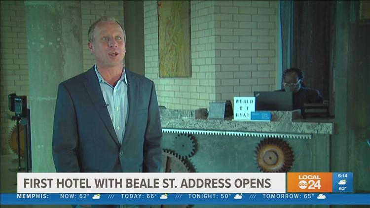 Hyatt Centric: First hotel with Beale Street address opens