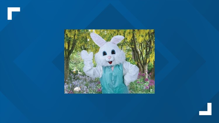 Free photo with the Easter Bunny? Hop on over to Bass Pro Shops