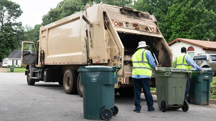 How to find out if your garbage pickup is changing in Memphis