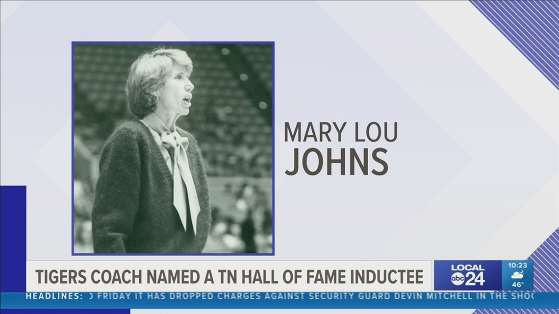 Former Memphis Tigers women's basketball coach Mary Lou Johns is a 2021 Tennessee Sports Hall of Fame inductee
