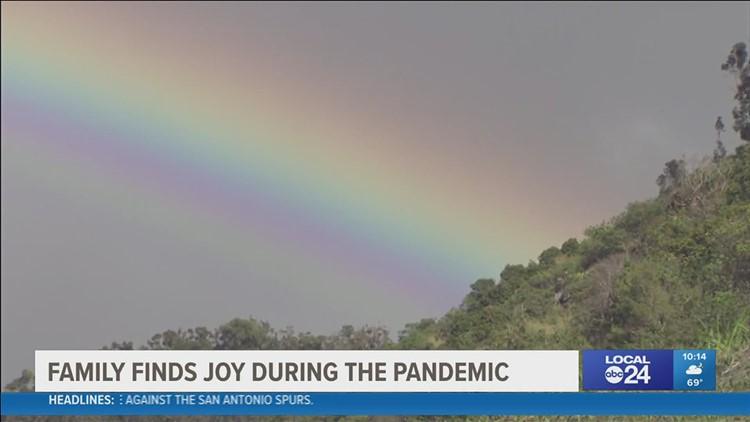 Nextdoor neighbors pass the positivity: Memphis family spreads joy with their rainbow baby