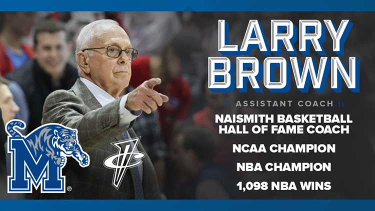Memphis Tigers hire Hall of Famer Larry Brown as assistant basketball coach