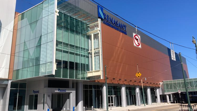 Things are getting busier downtown with bigger bookings at Renasant Convention Center