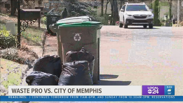 City of Memphis sends termination letter to Waste Pro, new services begins services Monday