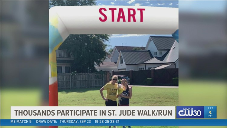 Across the country, thousands walked to help in the fight against childhood cancer