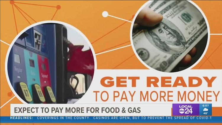 Get ready to pay more at the grocery store and gas station