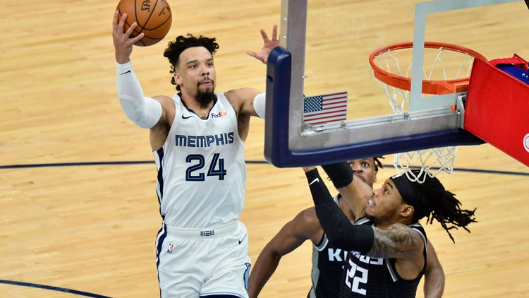 Brooks scores 30 as Grizzlies overcome Kings 116-110