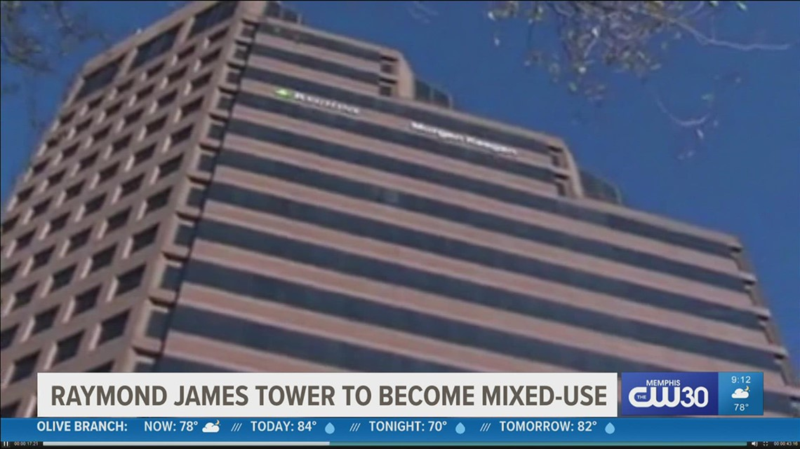 The second tallest tower in Memphis is getting a makeover