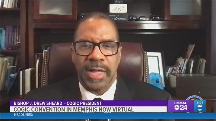Church Of God In Christ is going virtual for its Holy Convocation