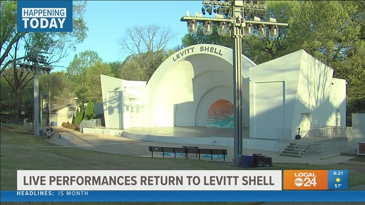 Ballet Memphis to bring first live show back to Levitt Shell in more than a year