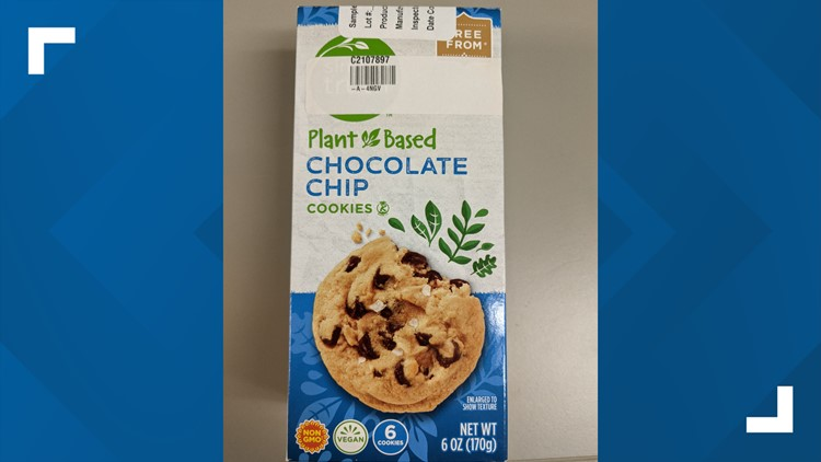 Simple Truth Plant-Based Chocolate Chip Cookies recalled due to undeclared allergen