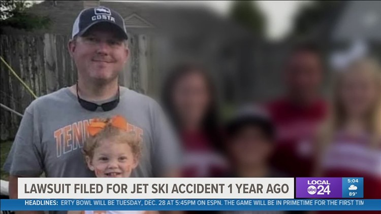 $10 million lawsuit filed in jet ski crash on Pickwick lake which killed Mid-South man and his young daughter