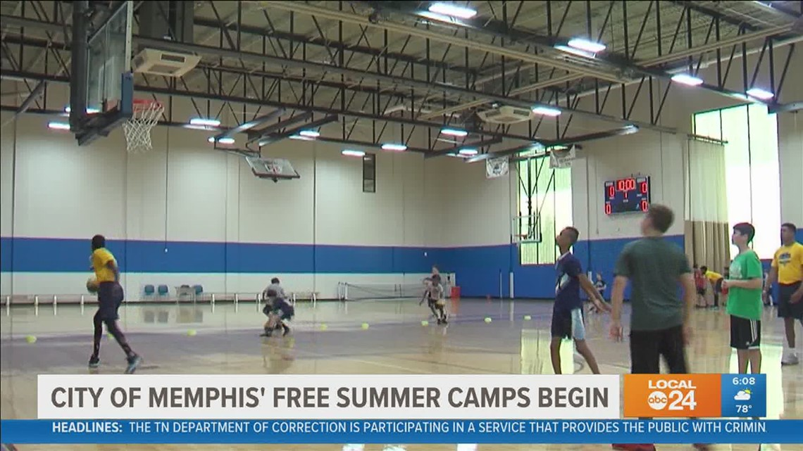 City of Memphis free summer camps begin Monday