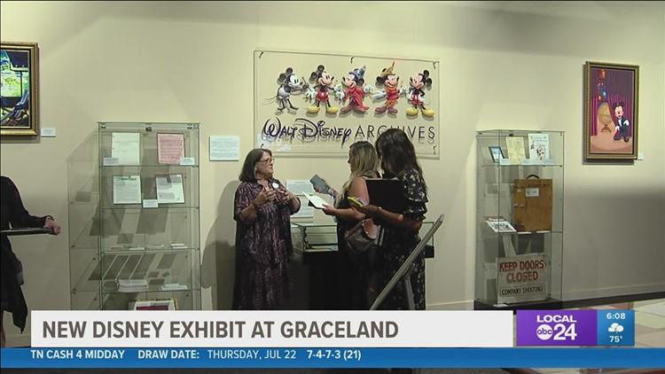 Move over Elvis, Walt Disney has come to Graceland