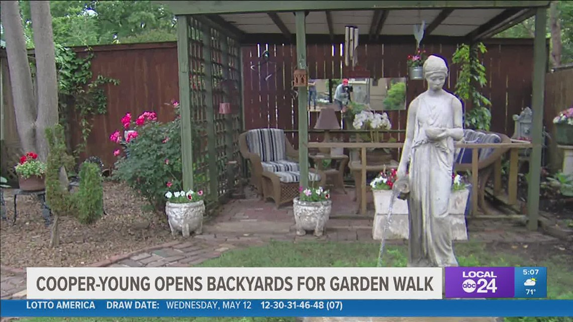 Nearly 100 gardens to be featured in 6th annual Cooper-Young Garden Walk