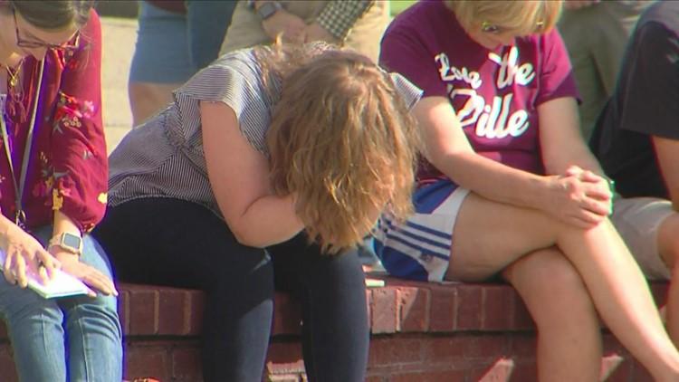 Community gathers at prayer vigil in Collierville