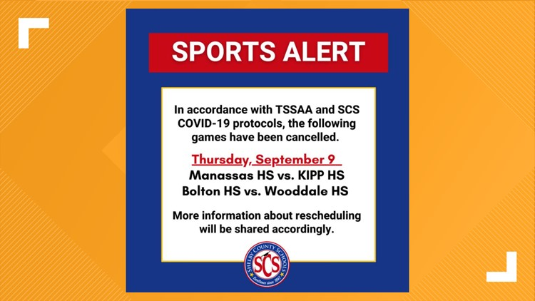 SCS Football: More games canceled due to COVID-19