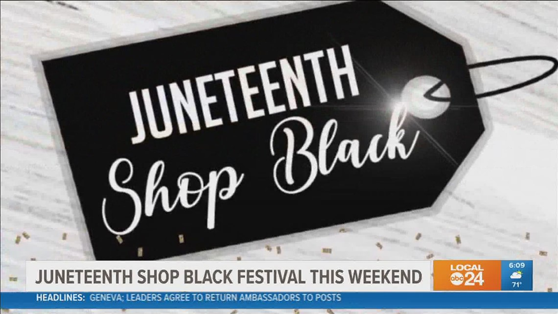 Juneteenth Shop Black event returns for second year with in-person festival