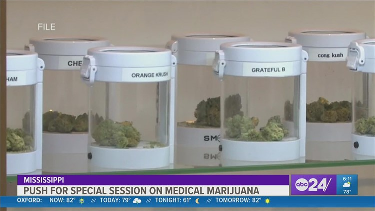 Families want special session on medical marijuana in Mississippi
