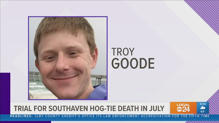 Federal trial in civil case in Troy Goode death set to begin in July