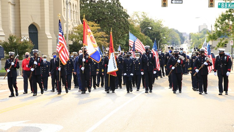 Mid-South law enforcement gathers to remember and honor the lives lost in the September 11th attacks