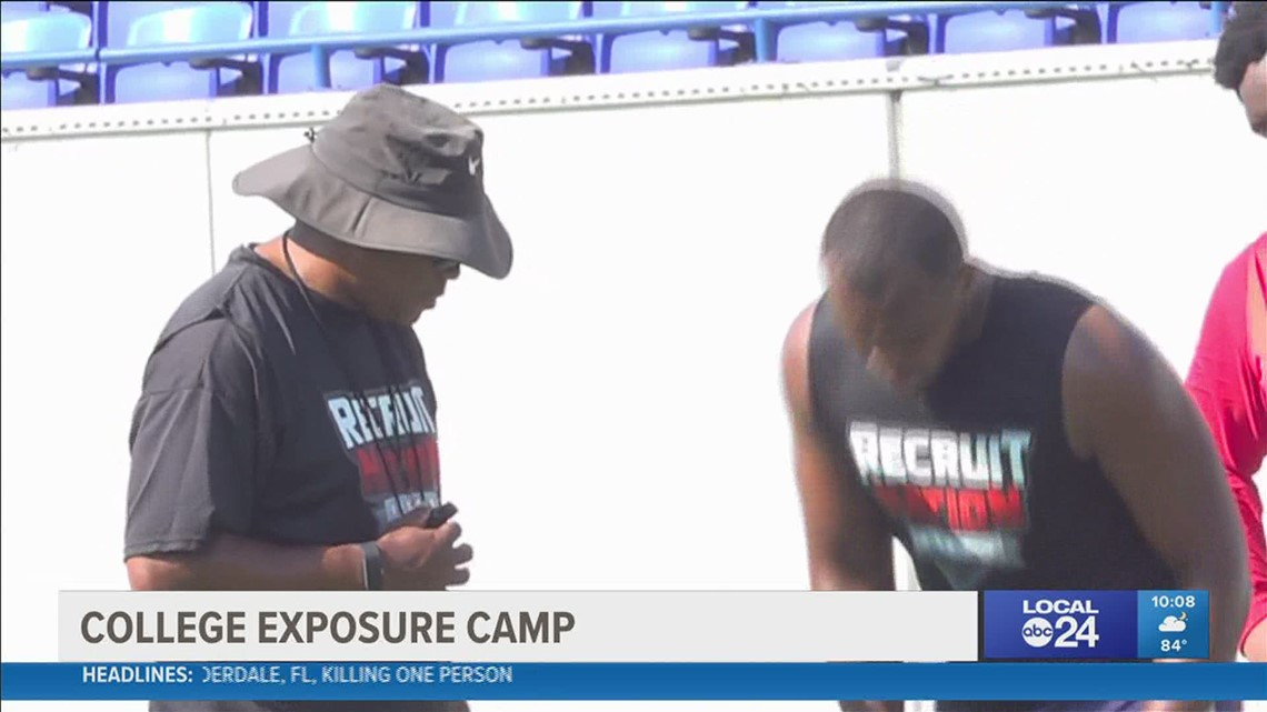 National recruiting camp hosts exposure camp for local football players