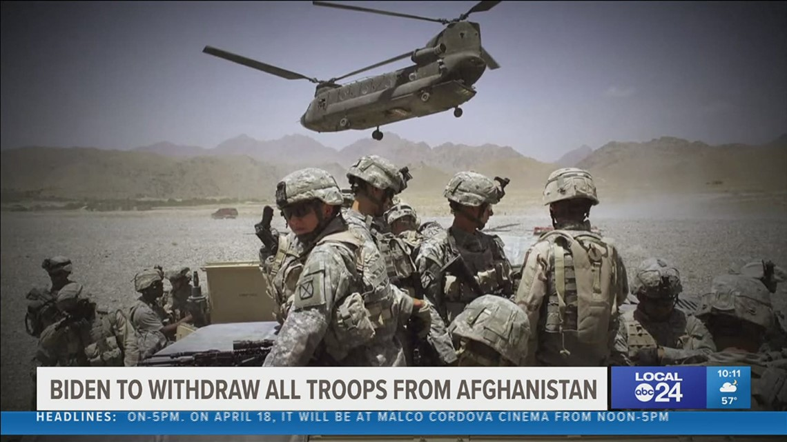 Afghanistan War veteran relieved troops will be home by September