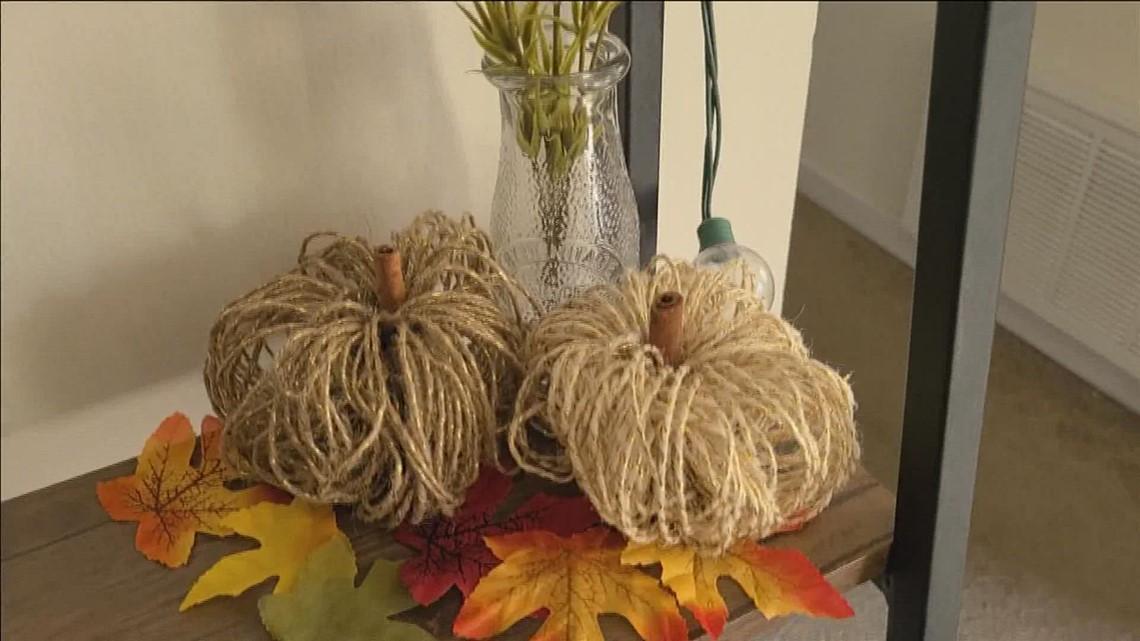 Easy DIY pumpkin décor tutorial with Kyra Black