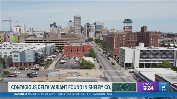 Shelby County health experts concerned about clusters of highly contagious COVID-19 Delta variant, reiterates need for vaccinations