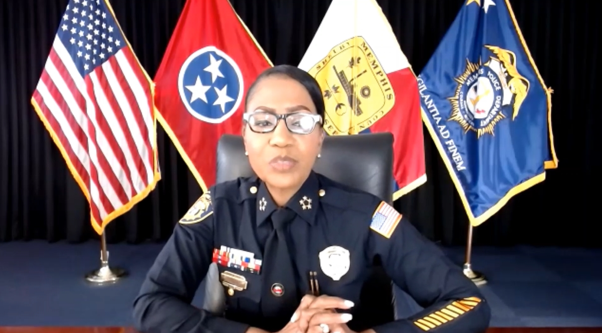 MPD Chief CJ Davis answers questions about the future of Memphis Police Department