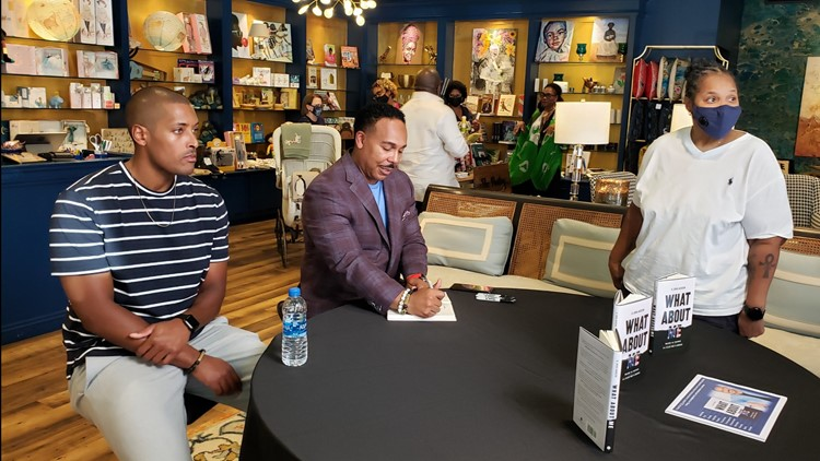 Producer and author spent time in Memphis signing copies of his book
