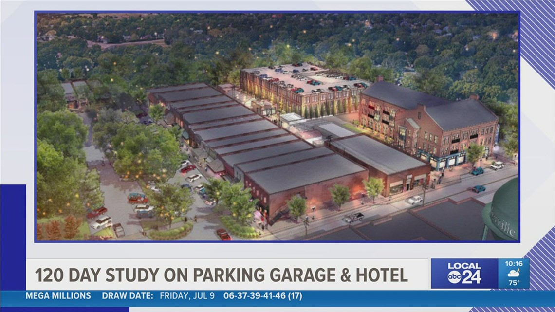 Collierville to look into building hotel and parking garage near the square