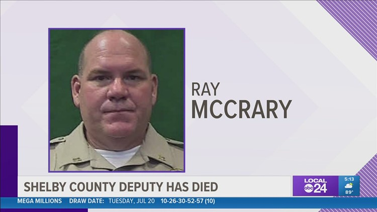 Shelby County Sheriff's Office mourns death of deputy sheriff