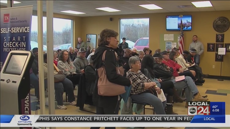 Long lines continue for those looking to get a Real ID in Tennessee