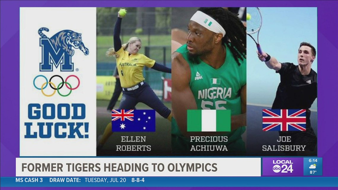 Three former Memphis Tigers are headed to Tokyo for 2020 Olympic Games