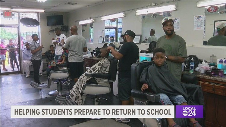 No tricks up their sleeves: Magic Dads send kids back to school with swag