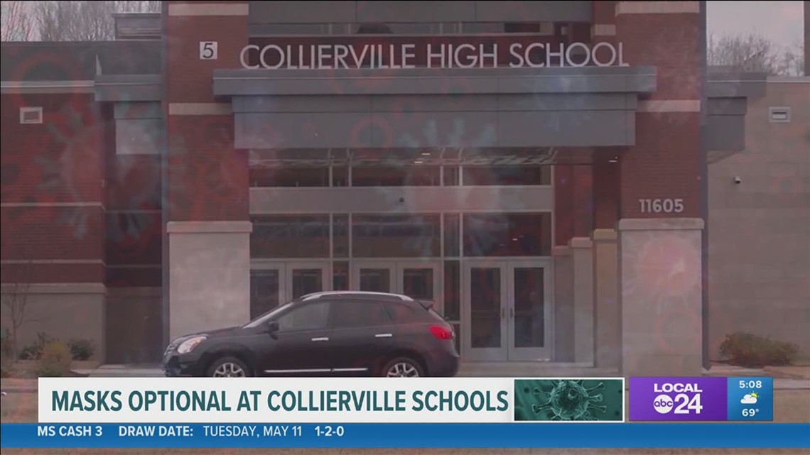 Collierville Schools says masks will be optional for students and employees starting May 17