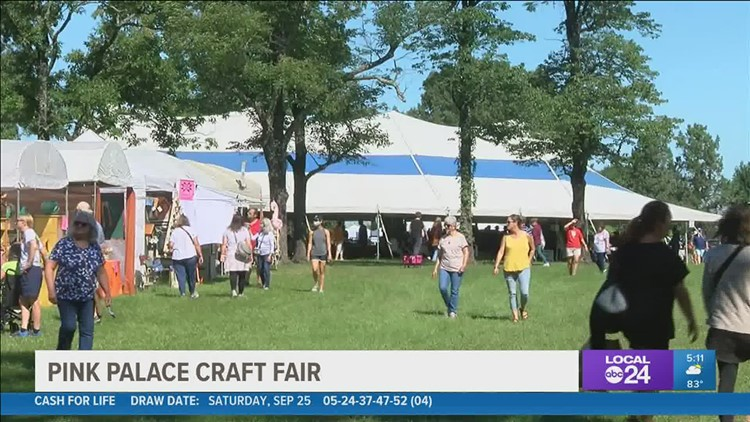 Pink Palace Arts & Crafts Fair returns for 49th year