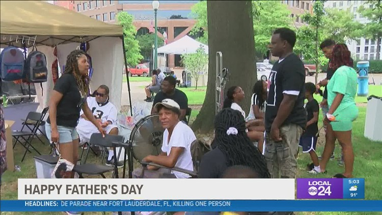 New Orleans family spent Father's Day at the Memphis Vegan Festival together as a family