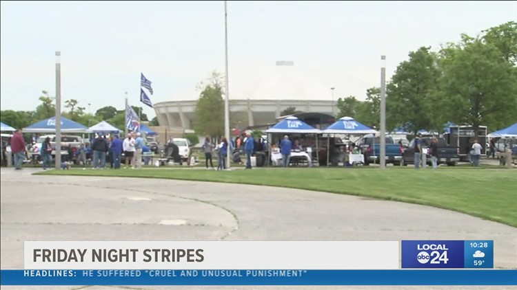 Friday Night Stripes was not quite normal, but the Tigers annual spring game was the closest we have come yet