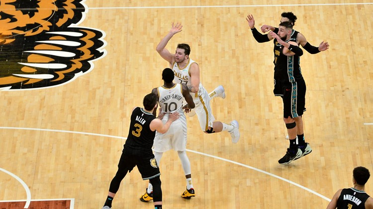 Doncic's 3 at buzzer leads Mavericks past Grizzlies 114-113