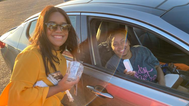 Heal the Hood Foundation of Memphis hosts drive-thru family movie night