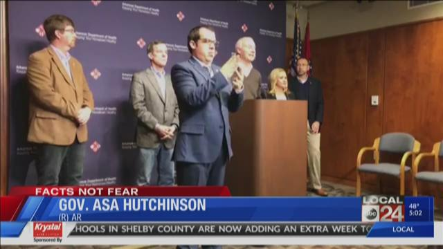 Arkansas health officials confirm 16 positive cases of ...