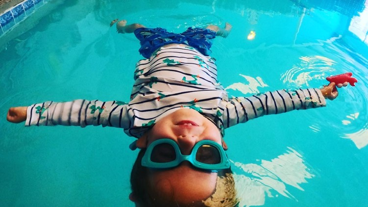 Swim instructors encourage water safety as summer inches closer