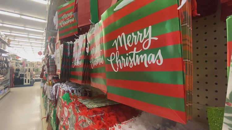 People buying more Christmas decorations than gifts this year