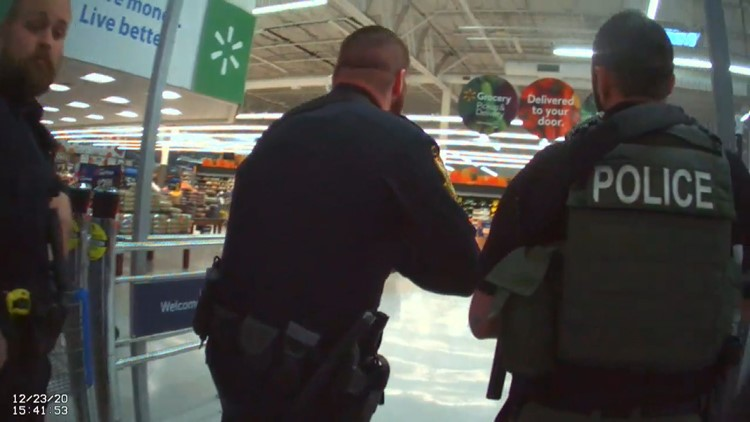 Bodycam shows armed response to false reports of active shooting at Tennessee Walmart