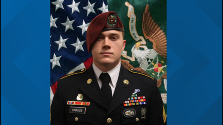 Staff Sgt. Ryan Knauss set to be buried at Arlington National Cemetery on Sept. 21