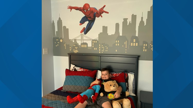 Nonprofit remodels 6-year-old's bedrooms after he recovers from cancer