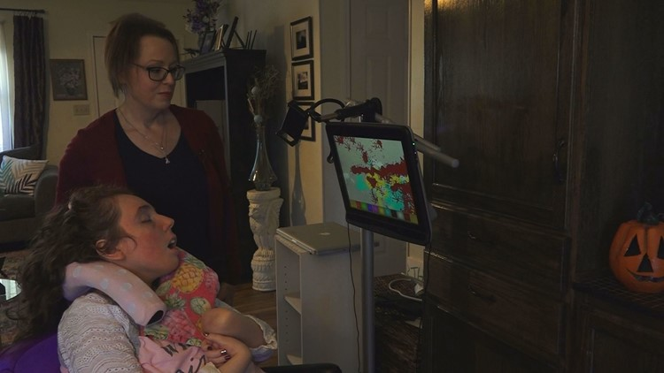 'It's a punch to the gut'   Mother with stage four breast cancer finds inspiration through daughter with disabilities