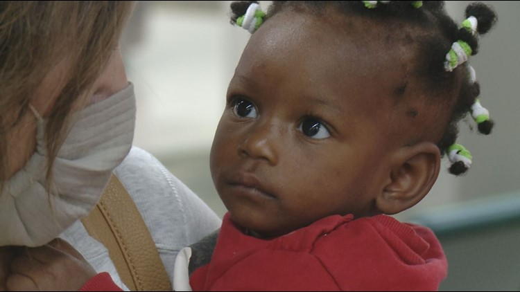 10-month-old arrives in Tennessee from Africa for free life-changing surgery